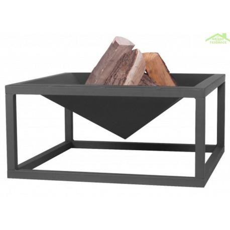Photo de brasero-de-jardin-carre-jumbo-en-acier-naturel-ou-noir-60-cm-acier-noir-sable