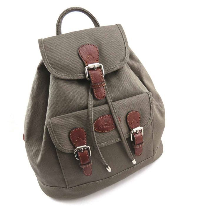 sac 224 dos toile quot gil holste vert achat vente sac 224 dos 3609521074407 cdiscount