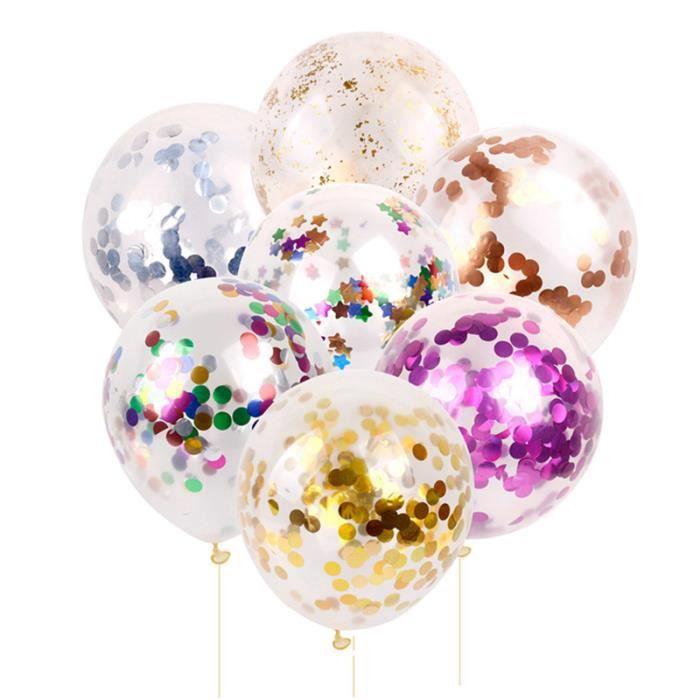 """20 x confettis ballons latex 12/"""" Hélium Fête D/'Anniversaire Mariage Décorations UK-89"""