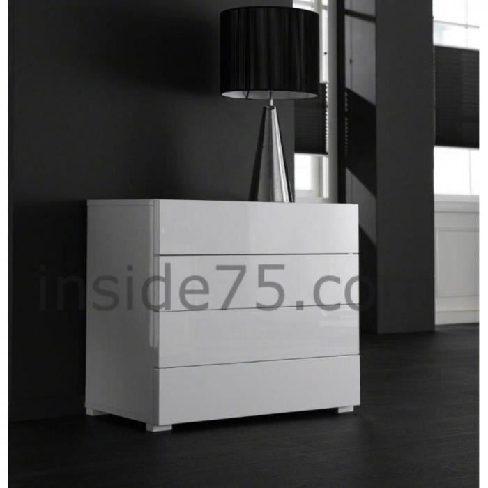 commode laquee blanc maison design. Black Bedroom Furniture Sets. Home Design Ideas