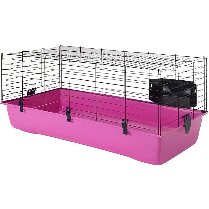 lapin cage environnement achat vente cage lapin cage environnement cdiscount. Black Bedroom Furniture Sets. Home Design Ideas