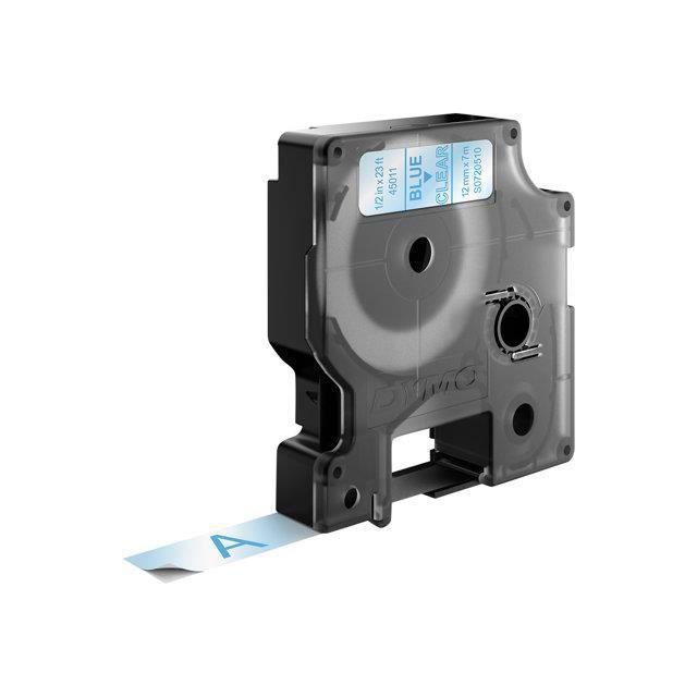 Ruban Cassette Cartouche 12mm vhbw pour Dymo Labelpoint 100 45018. 150 350 comme Dymo D1 250 300 200