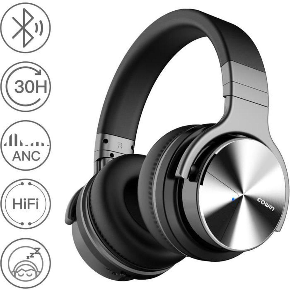 CASQUE - ÉCOUTEURS Cowin E7 Pro Casque audio bluetooth - Sans fil arc