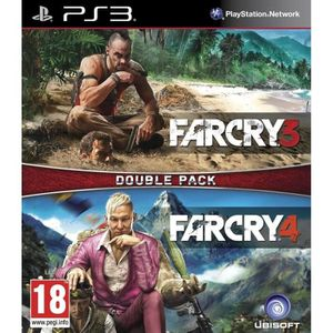JEU PS3 Far Cry 3 + Far Cry 4 Jeux PS3