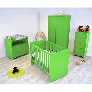 Chambre Bébé Floride complète Vert - Achat / Vente chambre ...