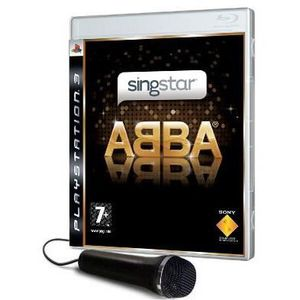 JEU PS3 Pack micro filaire + Singstar ABBA - jeu PS3
