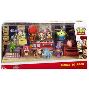FIGURINE - PERSONNAGE Disney Toy Story Dyn69 Minis Figures (pack Of 10)