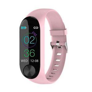 BATT. MONTRE CONNECTÉE Bracelet connecté HD sport  Cardio fitness calorie