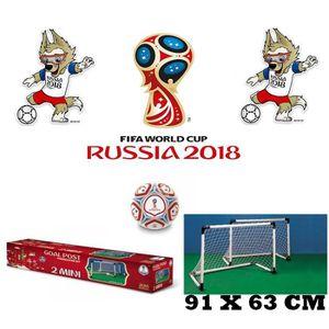 BALLE - BOULE - BALLON FIFA 2 but cage de foot + ballon officiel mondial