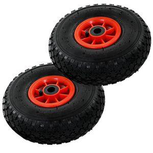 2 pneus Pneu de rechange pour diable 2.60 x 85   4.10//3.50-4// 3.00-4