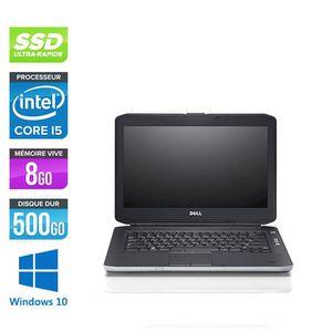 PC RECONDITIONNÉ Pc portable Dell E5430 - i5 - 8Go - 500Go SSD - Li