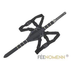 OBJET DÉCORATIF BLADE - Réplique Épée (version avec support dos)