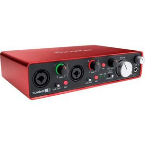 INTERFACE AUDIO - MIDI Focusrite Scarlett 2i4 2ème génération - Interface