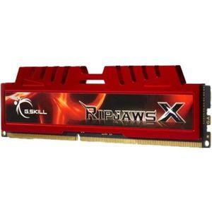 MÉMOIRE RAM G.Skill 8GB DDR3-1600, 8 Go, 2 x 4 Go, DDR3, 1600