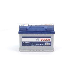 BATTERIE VÉHICULE BOSCH Batterie Auto S4008 74Ah 680A / + à droite