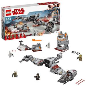 JEU D'ADRESSE Lego 75202 Star Wars Episode Viii Défense de Crait