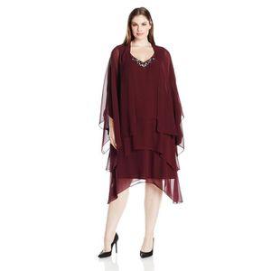 ROBE Robe de soirée en strass femme 1BFSZ2 Taille-50