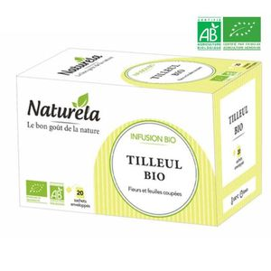 THÉ Naturela Infusion Tilleul Infusettes 20 x 1,4g Bio