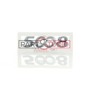 Original Peugeot emblème badge logo Hayon Chrome 98064511vd pour 208