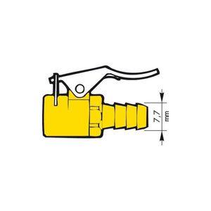 ACCESSOIRE COMPRESSEUR Raccord de gonflage PROVAC valve type Schrader - 8