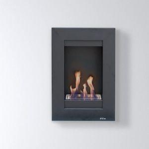 CHEMINÉE Morfeo, cheminée bio éthanol murale toute en haute