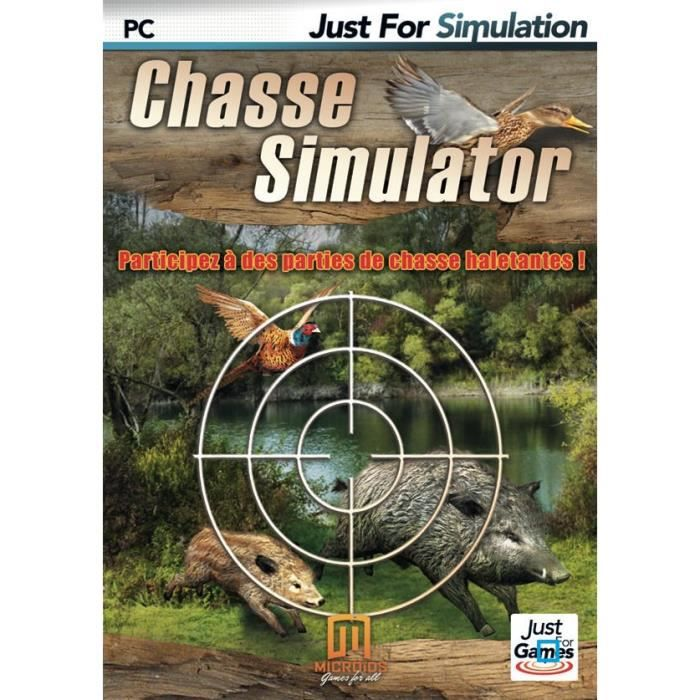 CHASSE SIMULATOR / Jeu PC