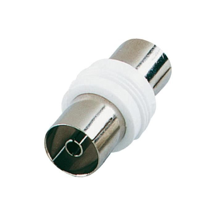 Adaptateur Coaxial 9.5Mm Male/Male