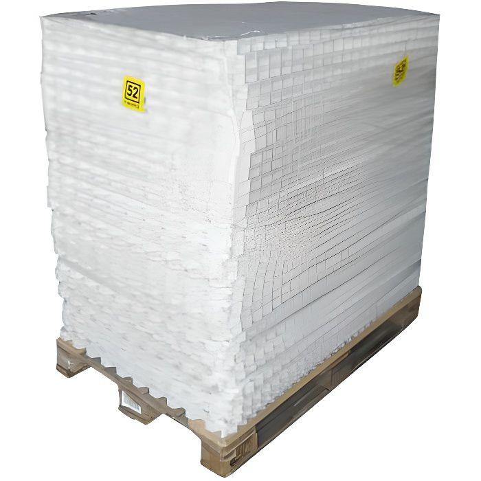 Dalle Gravel Fix Pro - Palette 31,5 m2 - Blanc