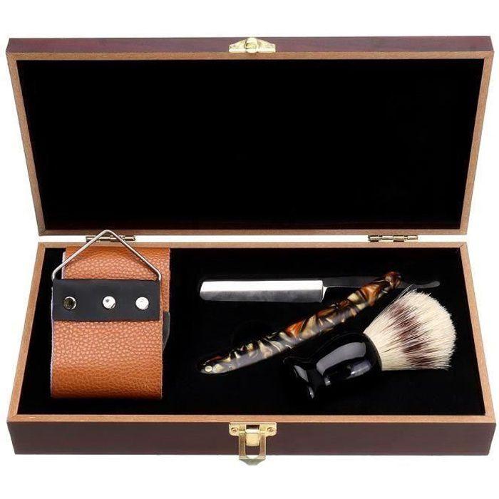 Coffret Coupe Choux Rasoir Homme Pro Barbier Traditionnel So36569