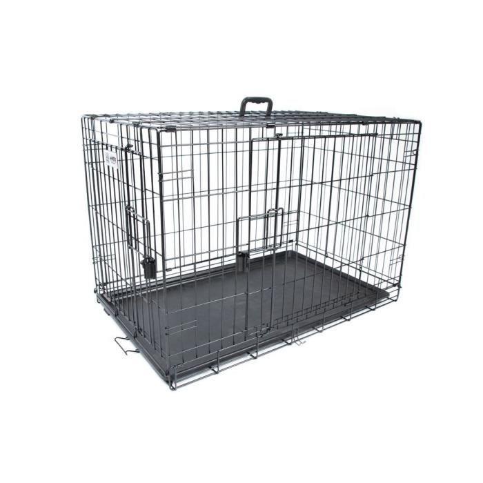 M-PETS - Caisse Voyager - Noir - XL 106,5x71x76 cm - Pour chien