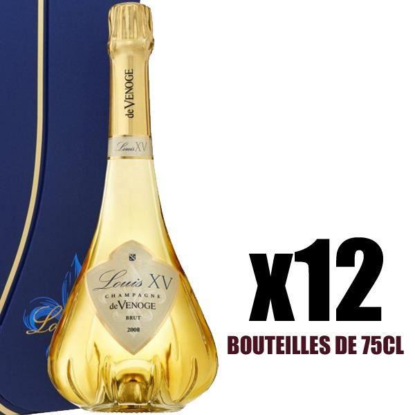X12 Louis XIV Extra Brut Millésimé 2008 75 cl De Venoge AOC Champagne