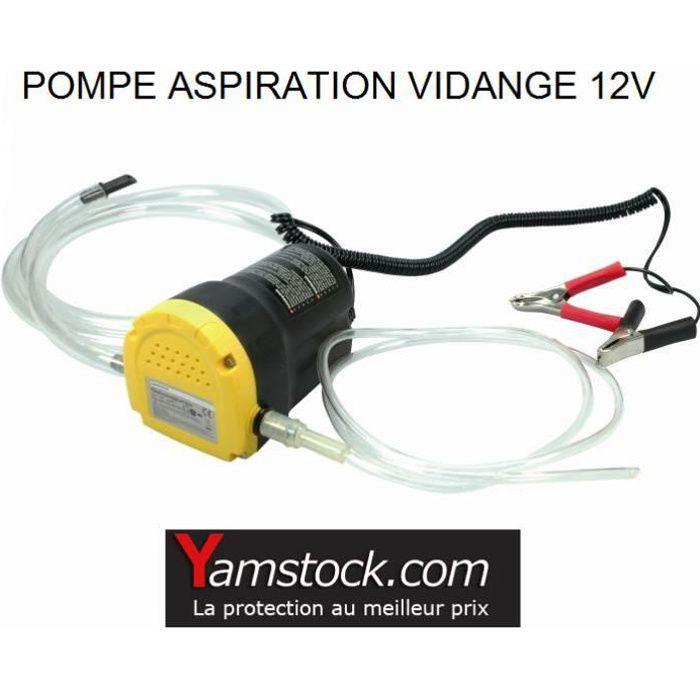 Pompe vidange d'huile moteur par aspiration 12V