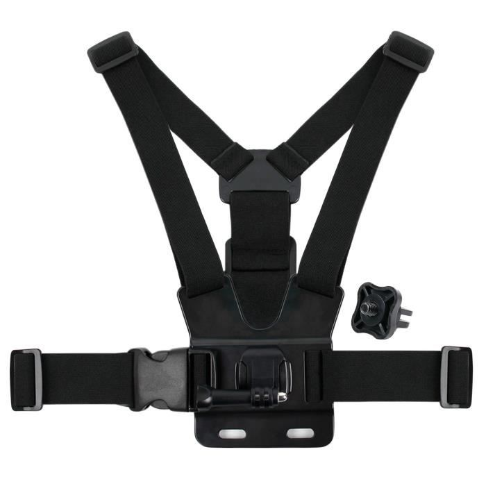 Harnais de poitrine pour VTech Kidizoom Action Cam 180 caméra enfant 507005 - DURAGADGET