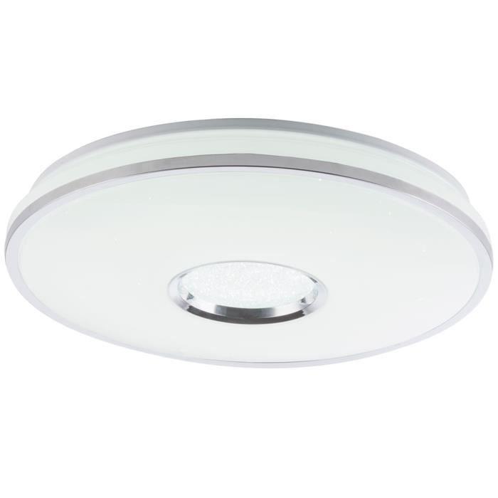Plafonnier LED effet ciel étoilé, dimmable, RENA