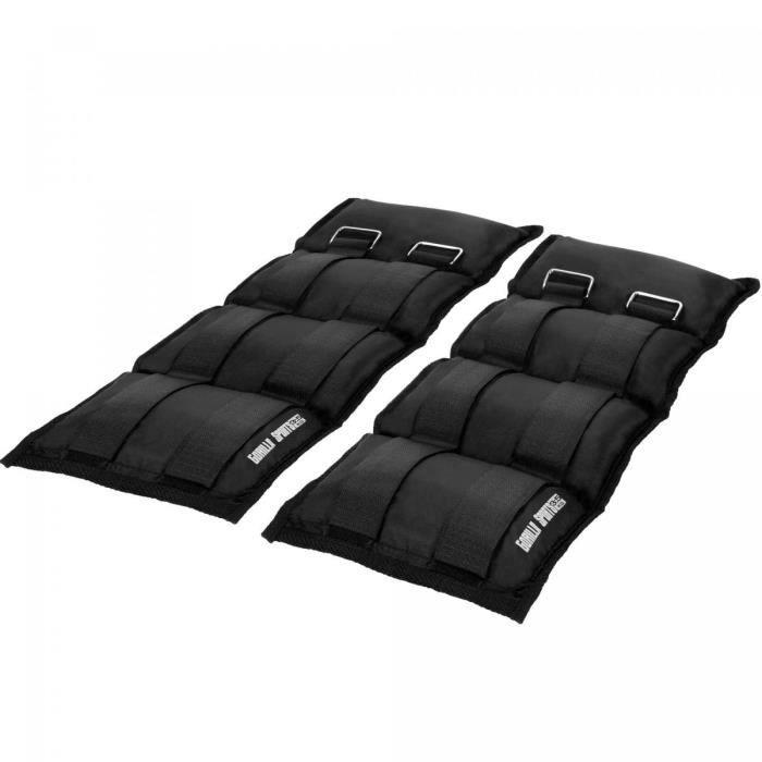 Gorilla Sports - Bandes lestées pour poignets ou chevilles - 2x3.5kg