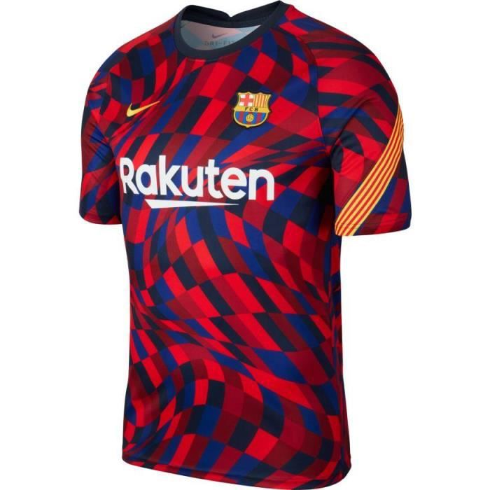 MAILLOT TRAINING TOP FC BARCELONE ADULTE 2020