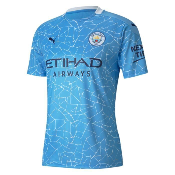 Manchester City - 2020-2021 Maillot de Football Exterieur