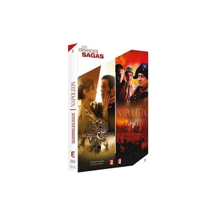 Grandes Sagas - Guerre et paix + Napoléon (DVD)