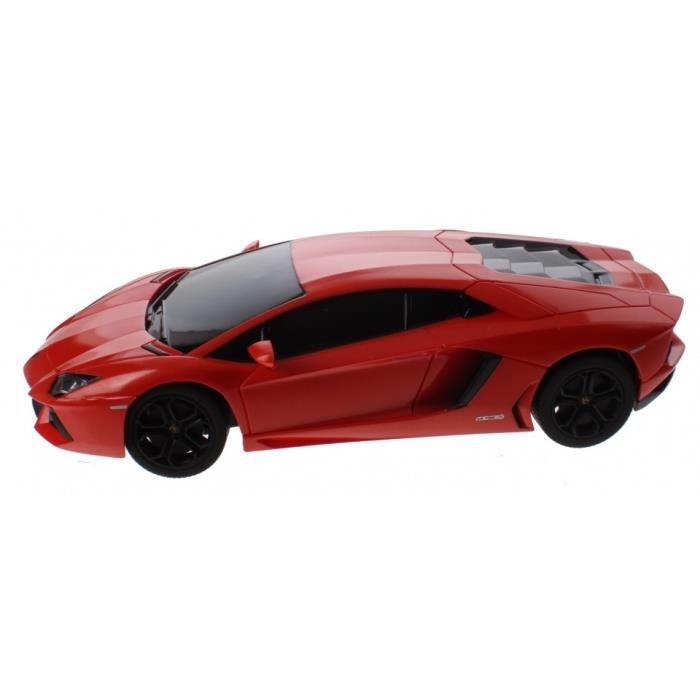Rastar RC Lamborghini Aventador à l'échelle 1:14 orange 30 cm