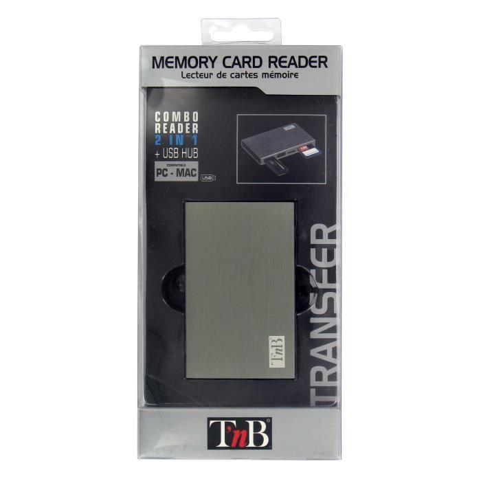 TNB pack hub usb/lecteur de carte SD SDHC MINI SD