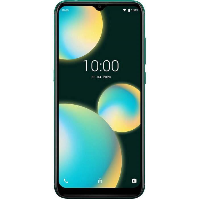 Smartphone double SIM 4G WIKO VIEW4 LITE WIKVIEW4LITEDEGST 32 Go 6.52 pouces (16.6 cm) double SIM Android™ 10 13 Mill. p