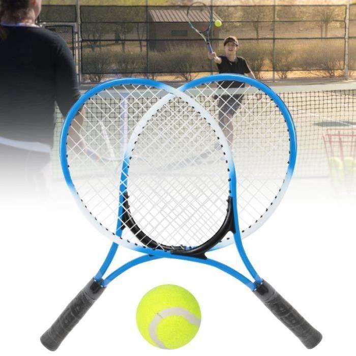 BRUCE17560-Tbest raquette de tennis pour débutants Raquette de tennis pour enfants en alliage de fer - Raquette d'entraînement pou