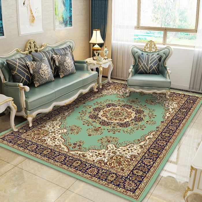 Tapis salon 120*160cm tapis oriental design persan decoration salon ...