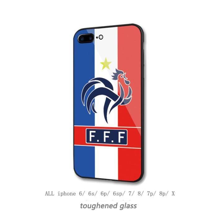 Coque iphone 7/8 Coupe du Monde France équipe Logo