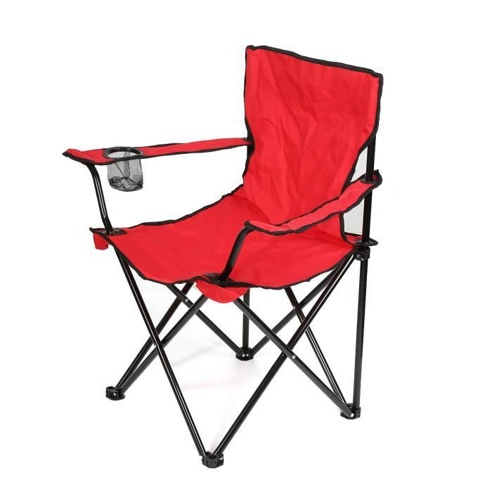 Sac Vert Camping Pêche Pliable Solide Robuste Alliage Sports Directors Chair