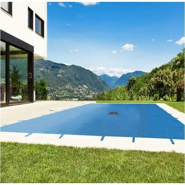 B che piscine 6x12m achat vente bache cdiscount for Bache piscine securite