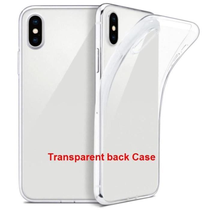 Coque iphone 5s avec rabat transparent
