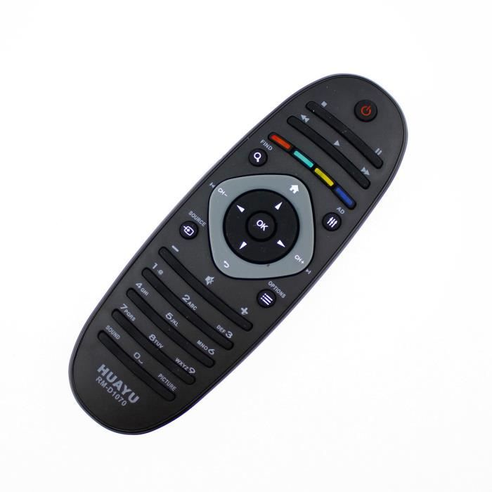 Telecommande pour Philips 42PFL7676 42PFL7676H 42PFL7676H//12 42PFL7676T Neuf
