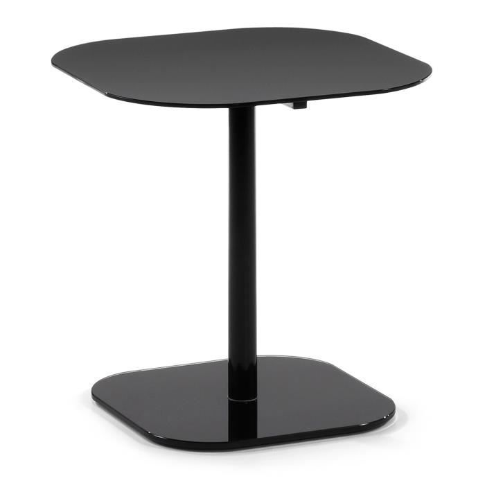 table d 39 appoint vel noir achat vente table d 39 appoint table d 39 appoint vel noir soldes d. Black Bedroom Furniture Sets. Home Design Ideas