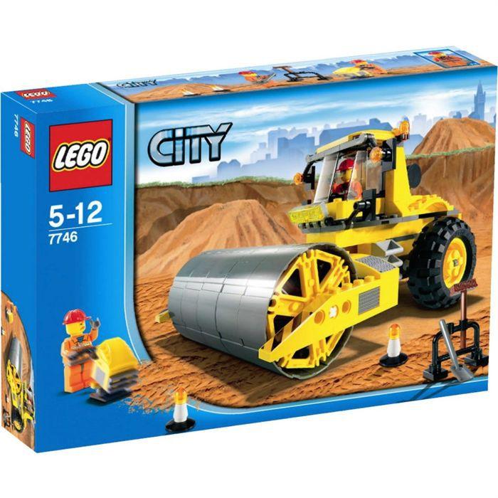 ASSEMBLAGE CONSTRUCTION Lego Le rouleau-compresseur